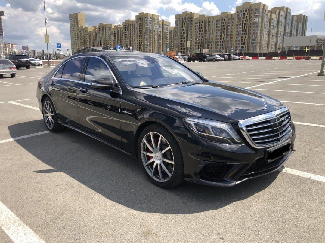 Mercedes S63 AMG: 2000 руб/час